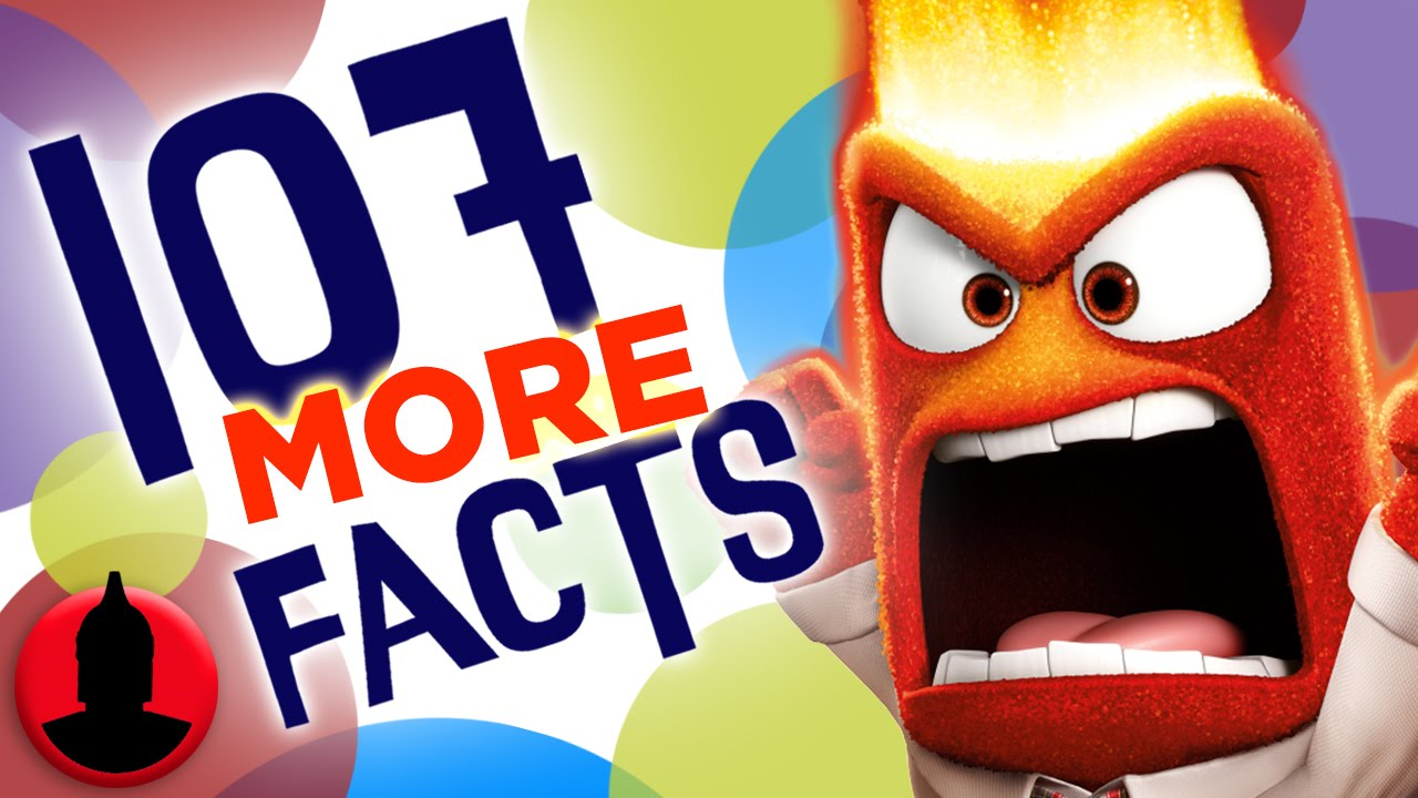107 MORE Facts About Disney's Inside Out - (ToonedUp #88) @CartoonHangover