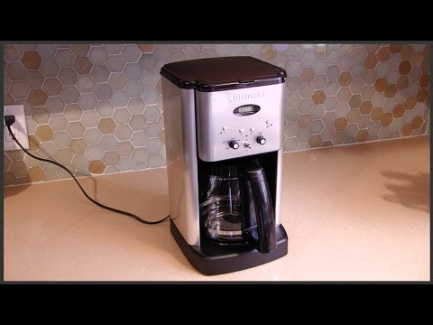 How To Use The Cuisinart Coffee Maker Self Clean : Cuisinart :: VideoLike