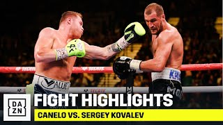 HIGHLIGHTS | Canelo vs. Sergey Kovalev