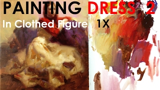 How To Draw Dress In Clothed Figure Painting 2