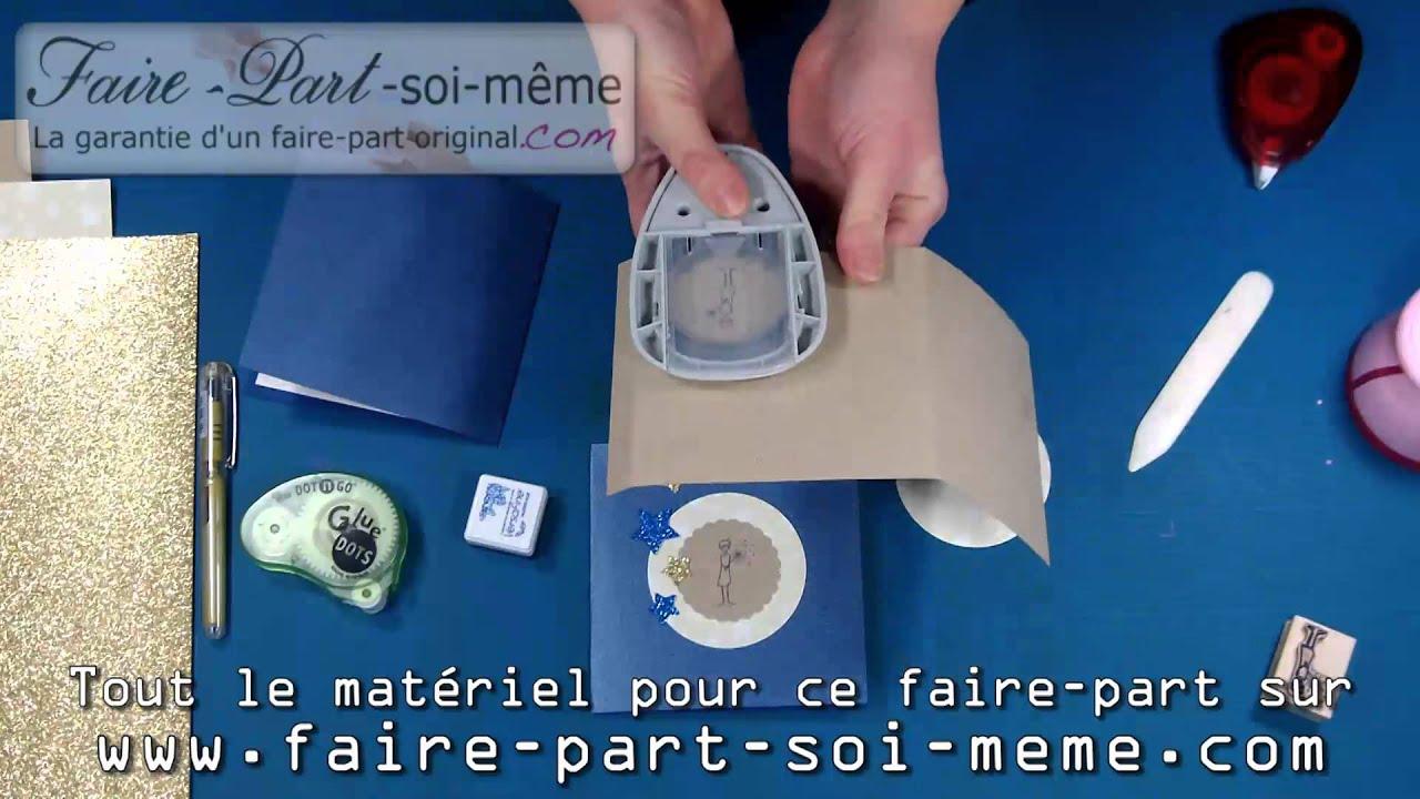 Exemple Faire-part naissance Petit Prince - YouTube