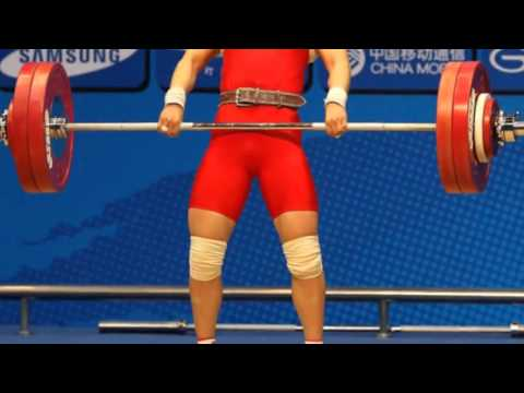Li Xueying of China Wins Olympic Weightlifting Gold Medal