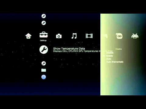 multiMAN 04.06.02 - Check Internal PS3 Temperature - PS3 Homebrew