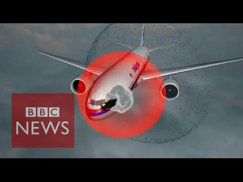 Animation 'shows fate of flight MH17' - BBC News