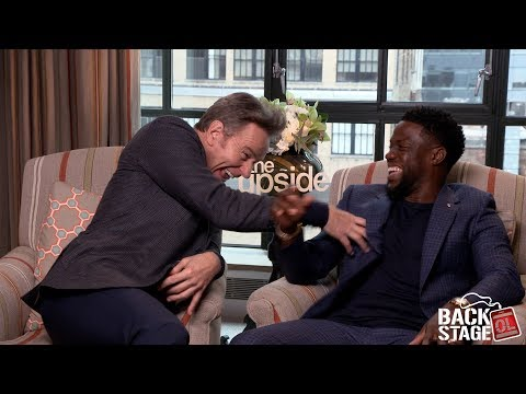 Bryan Cranston Roasts Kevin Hart During THE UPSIDE Interview