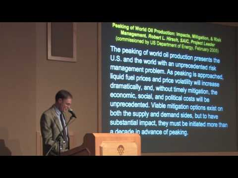 Peak Oil &amp; The Party's Over - Richard Heinberg - 3 of 5
