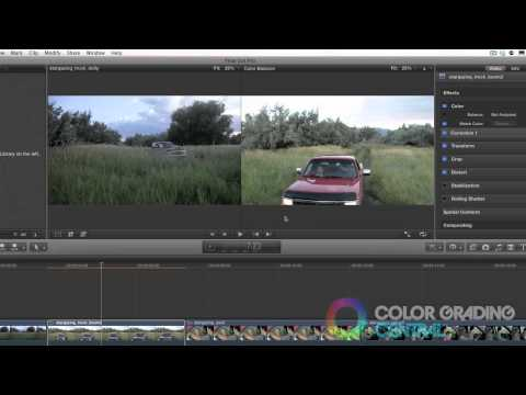 Color Correction: Shot Matching