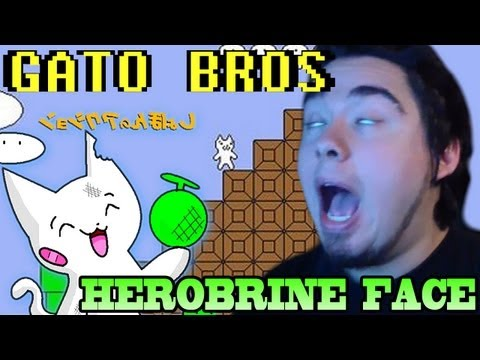 Gato Bros: Herobrine Face.. Fucking Cat! - #2 video