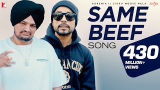 Same Beef - Bohemia Ft. Sidhu Moose Wala | Official Song | Byg Byrd | New Punjabi Song 2019