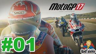 MotoGP 17 - Gameplay ITA - Carriera #01 - Il Pilota Manager