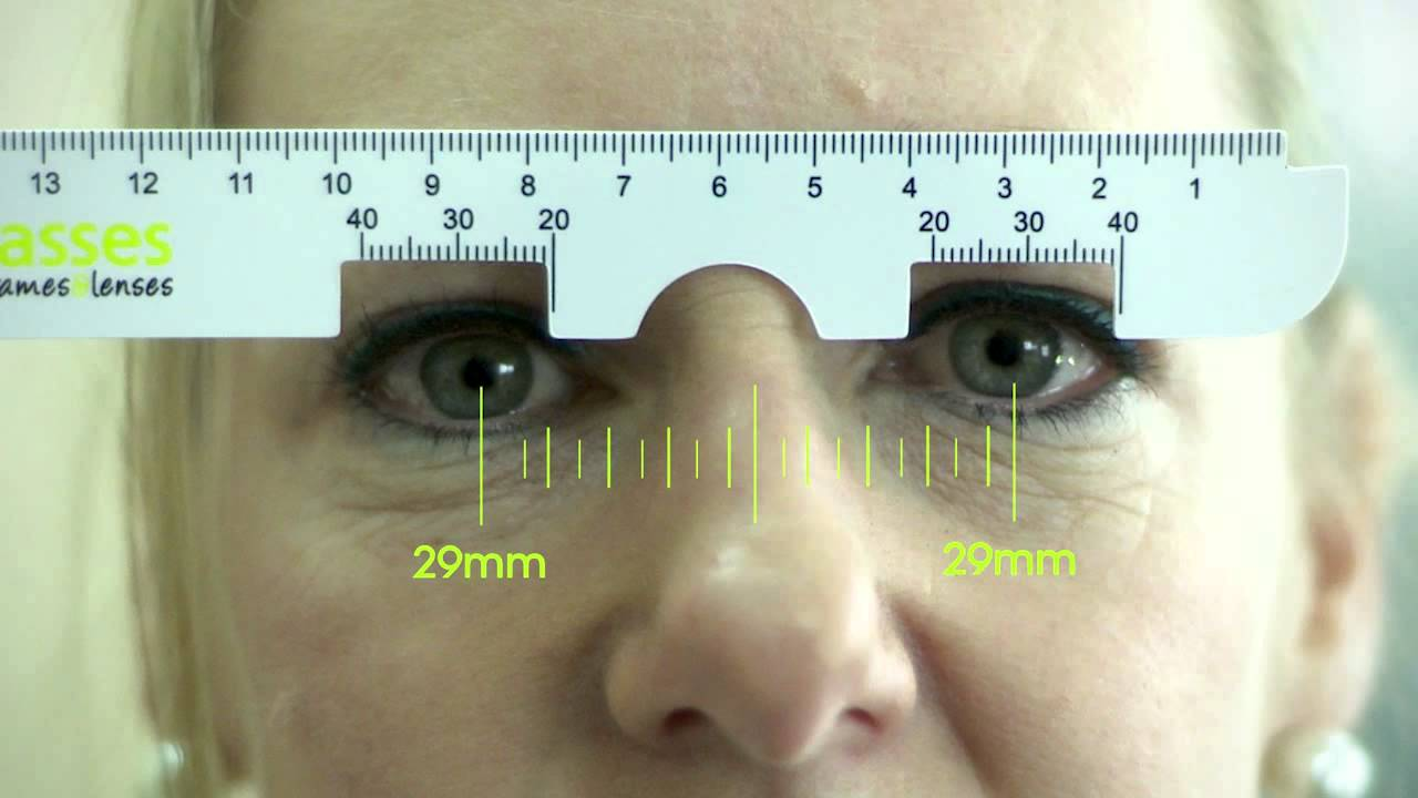 how to measure glasses with manual lensometer