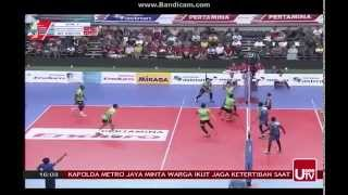 Grand Final Bola Volly Putra set 22015 part III
