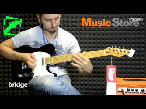Fender Telecaster Standard (mexican) - demo, test, review Music Videos