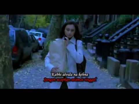 Kabhi Alvida Na Kehna (720p HD Song) Indonesia Translation