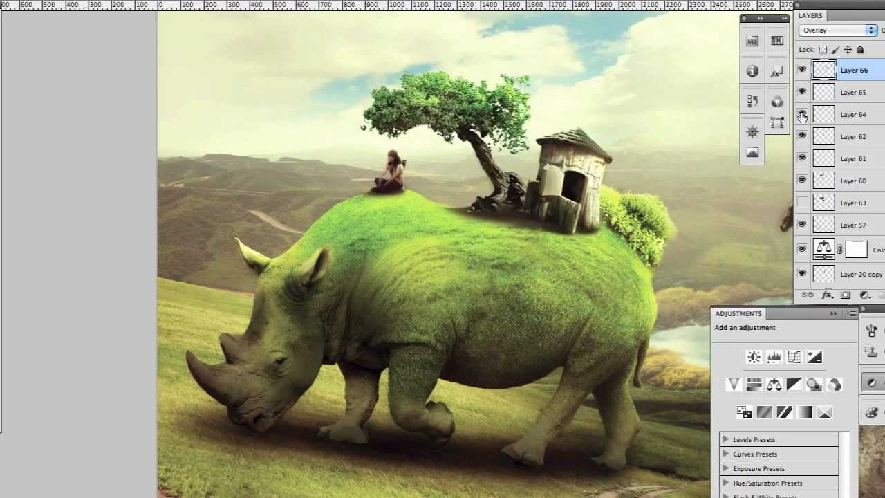 Photo Manipulation - New Worlds to Discover - Photoshop - YouTube