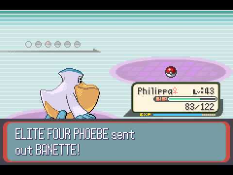 Pokemon Ruby - VS. PHOEBE - User video