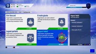 FIFA 19 - SFIDA CREAZIONE ROSA SBC - CONTINUA COSI - RAGAZZI FEDELI - SQUAD BUILDING CHALLENGES