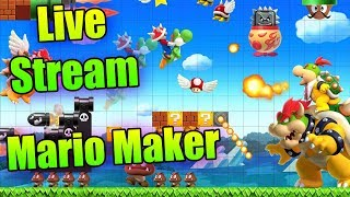Play YOUR levels with me | Super Mario Maker | Part 2