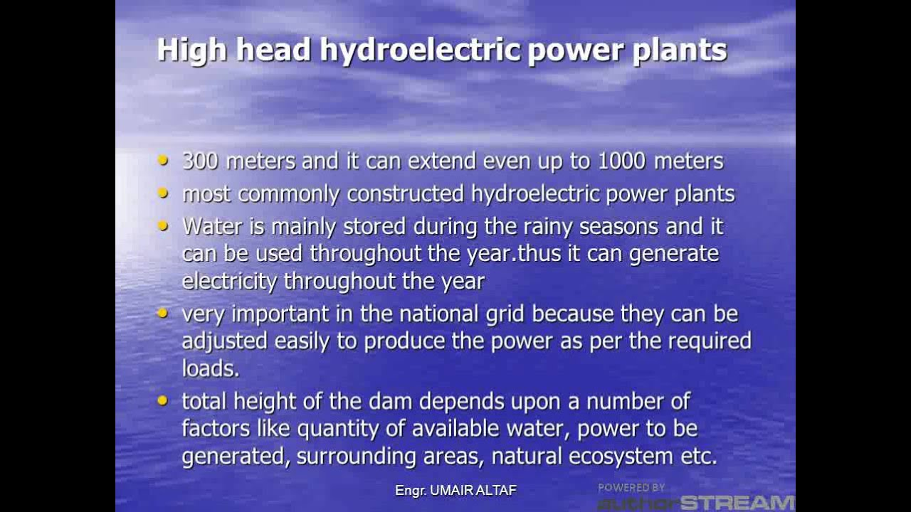 1000 word essays on hydroelectric power Hydroelectric power can have a deep impact on the surrounding environment, leading some people to question the help of hydroelectric power as a method.