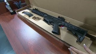 Gun sales spike at end of record year 12/19/2012