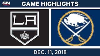 NHL Highlights  Kings vs. Sabres - Dec 11, 2018