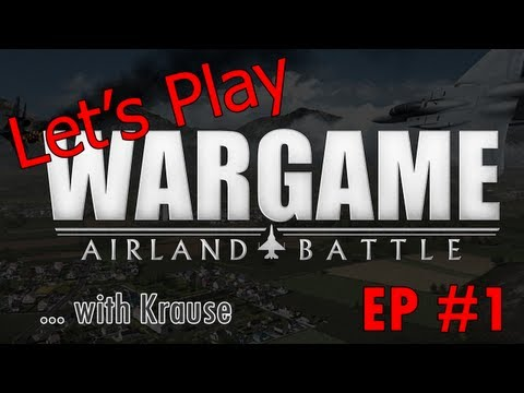 Let's Play Wargame Airland Battle Singleplayer Campaign EP. 1: US ARMOR SMASH!