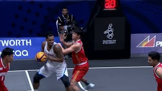 Highlights: Philippines vs Indonesia | 3X3 Basketball M Prelim Round | 2019 SEA Games