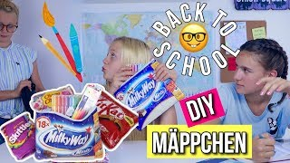 BACK TO SCHOOL DIY CANDY MÄPPCHEN Schule 2018 MaVie
