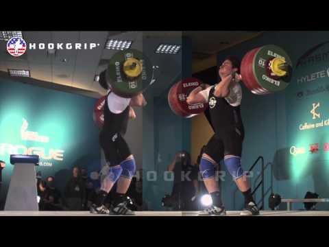 Norik Vardanian (94) - 203kg Clean & Jerk