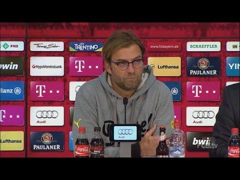 Pressekonferenz: Jürgen Klopp nach dem Spiel FC Bayern München - BVB (2:1) | BVB