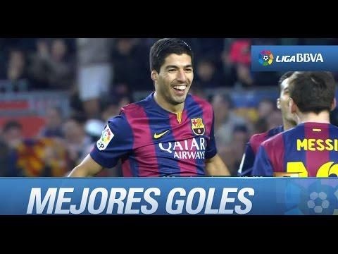 Luis Suárez, El Pistolero ● Top Goles ● 2014/2015