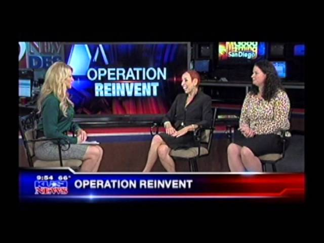 OPERATION REINVENT AND REBOOT WORKSHOP INTERVIEW KUSI TV SAN DIEGO INTERVIEW OCT. 23, 2013
