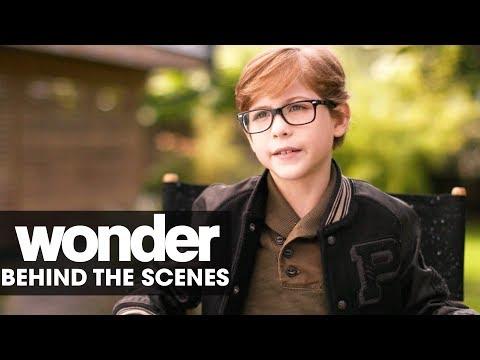 """Wonder (2017 Movie) BTS: """"Auggie"""" – Jacob Tremblay, Julia Roberts"""