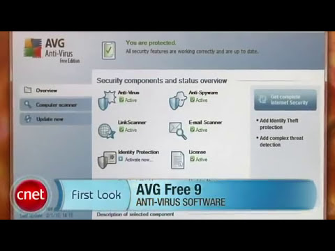 AVG Anti Virus Free Edition Review by CNET