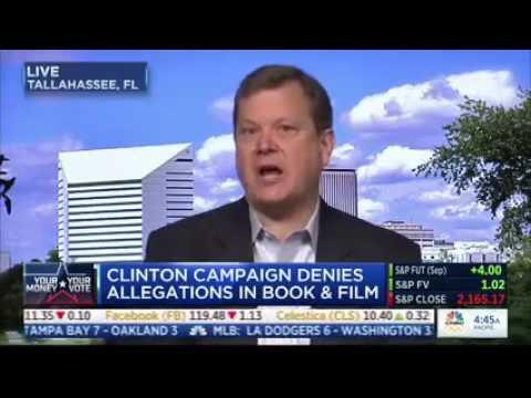 Peter Schweizer talks Clinton Cash on CNBC