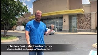 Murfreesboro Construction Update - Sportsman's Warehouse, Part 2
