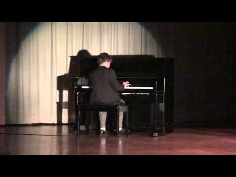 "Andrew Senorans plays ""Für Elise"" ""Beethoven"" at Jose Marti Mast Academy Talent Show 2013"
