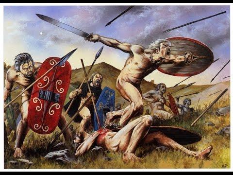 История древней Англии.  Обнажённые воины Европы.