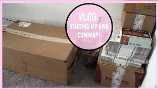 Vlog: Starting My Own Company.