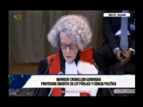 Bolivia expone sus alegatos en la CIJ