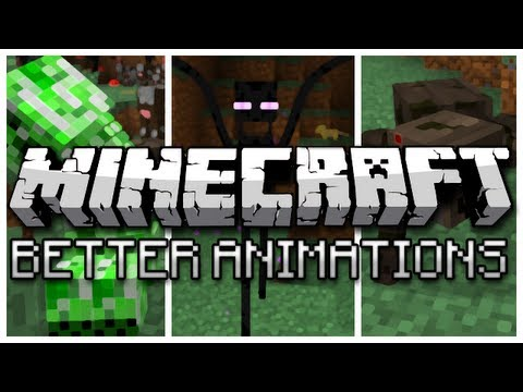 Minecraft: Better Animations Collection Mod!