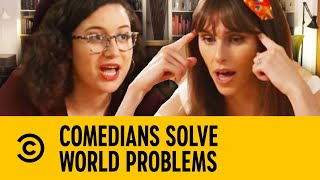 Comedians Solve World Problems - Donald Trump | Comedy Central UK