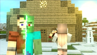 First Zombie: FULL ANIMATION - Minecraft Animation Movie