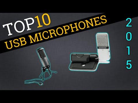 Top Ten USB Microphones 2015   Best Microphone Review