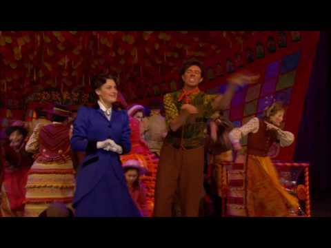 Featuring Ashley Brown as Mary Poppins and Gavin Lee as Bert. Love this video? Subscribe to DisneyOnBroadway. Connect with us on Facebook at http://www.faceb...