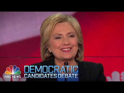 Clinton's 'Interesting' Relationship With 'Bully' Putin  | Democratic Debate | NBC News-YouTube
