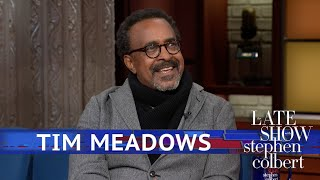 "Tim Meadows Can't Reprimand His 6'2"" Teenager"