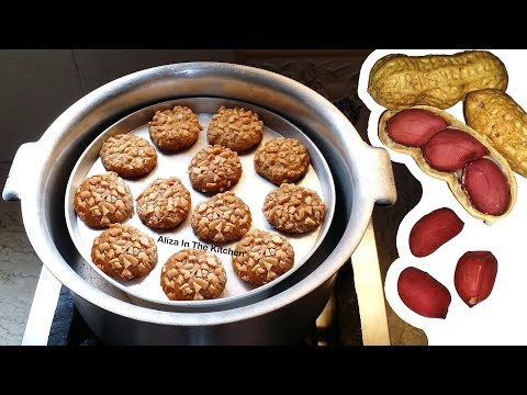 Peanut Biscuit - Cookies Recipe - Biscuit Recipe Without Oven - Aliza In The Kitchen