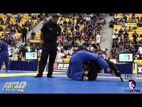 Cris Cyborg Suplexes way to Gold Medal Mundials (BJJ Worlds) 2011