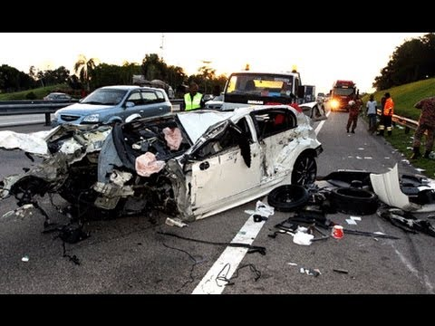 Car Crash Compilation 2013 , Malaysia , Hq video